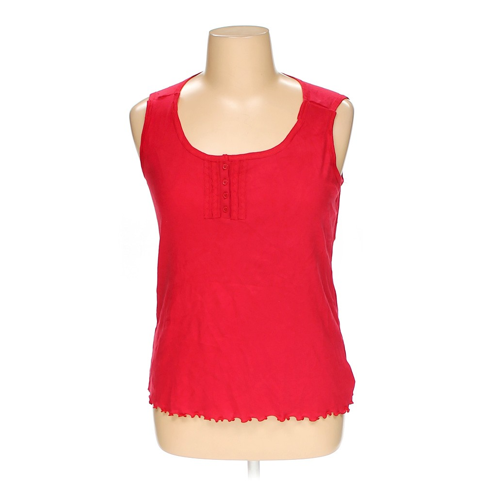 Red Faded Glory Sleeveless Top In Size 16 At Up To 95 Off