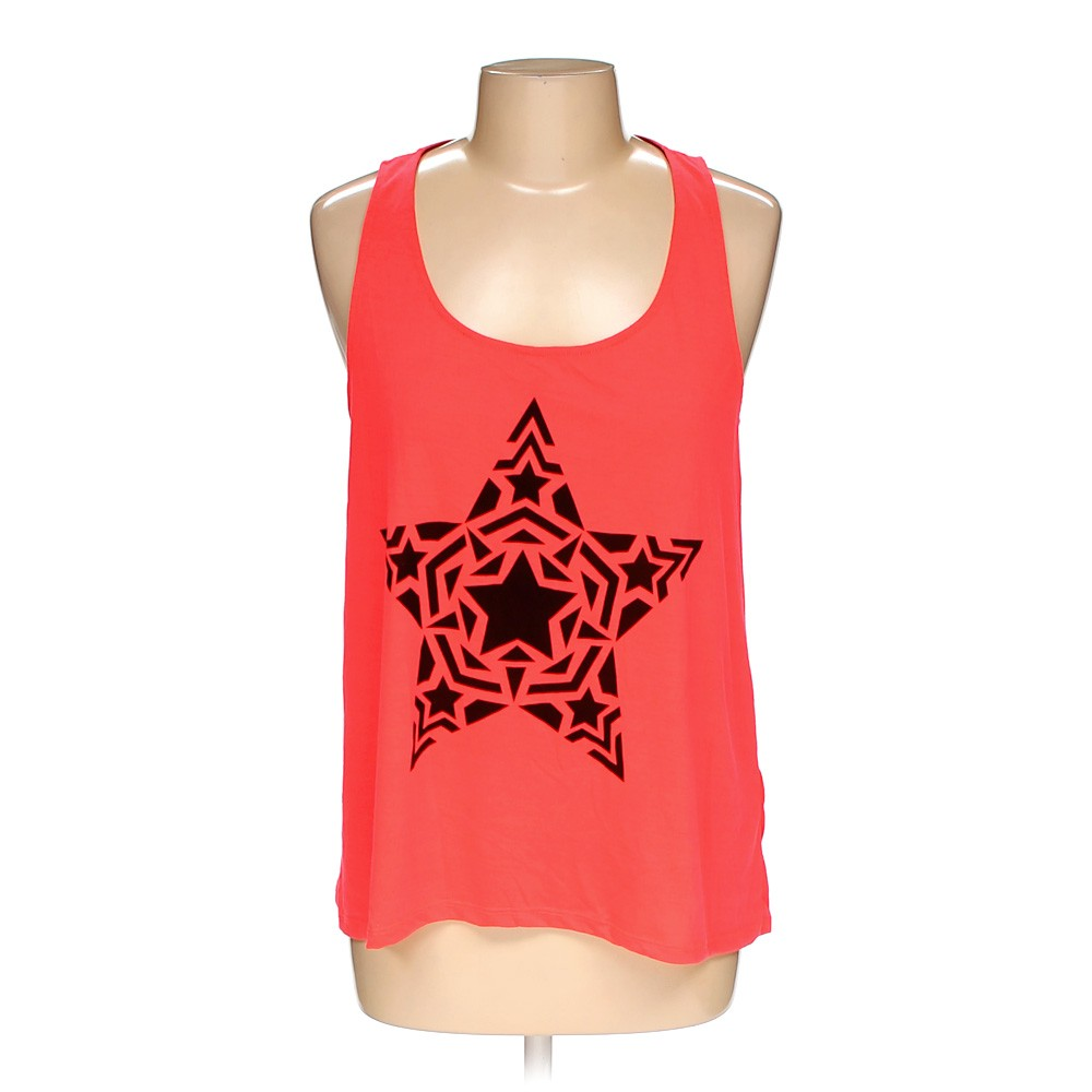 Pink H&M Sleeveless Top in size 12 at up to 95% Off