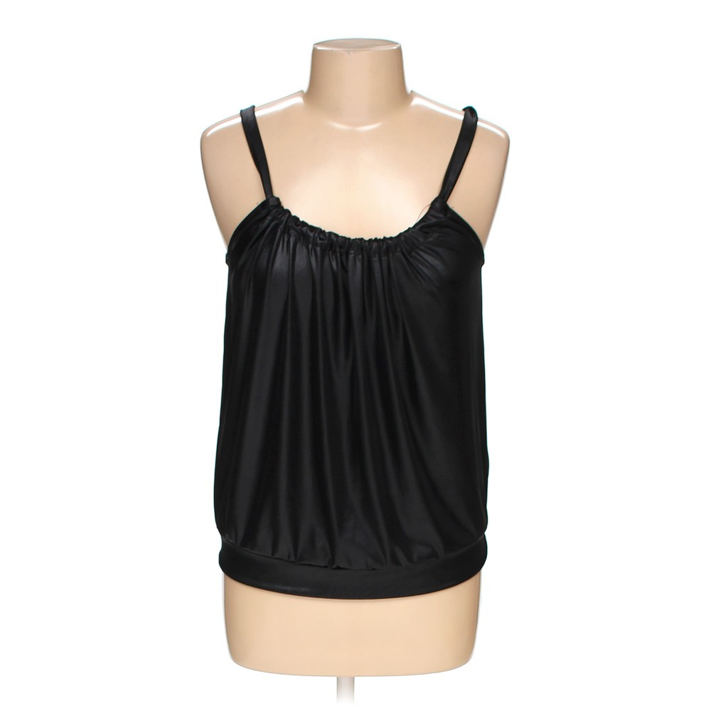 Black H&M Sleeveless Top in size M at up to 95% Off