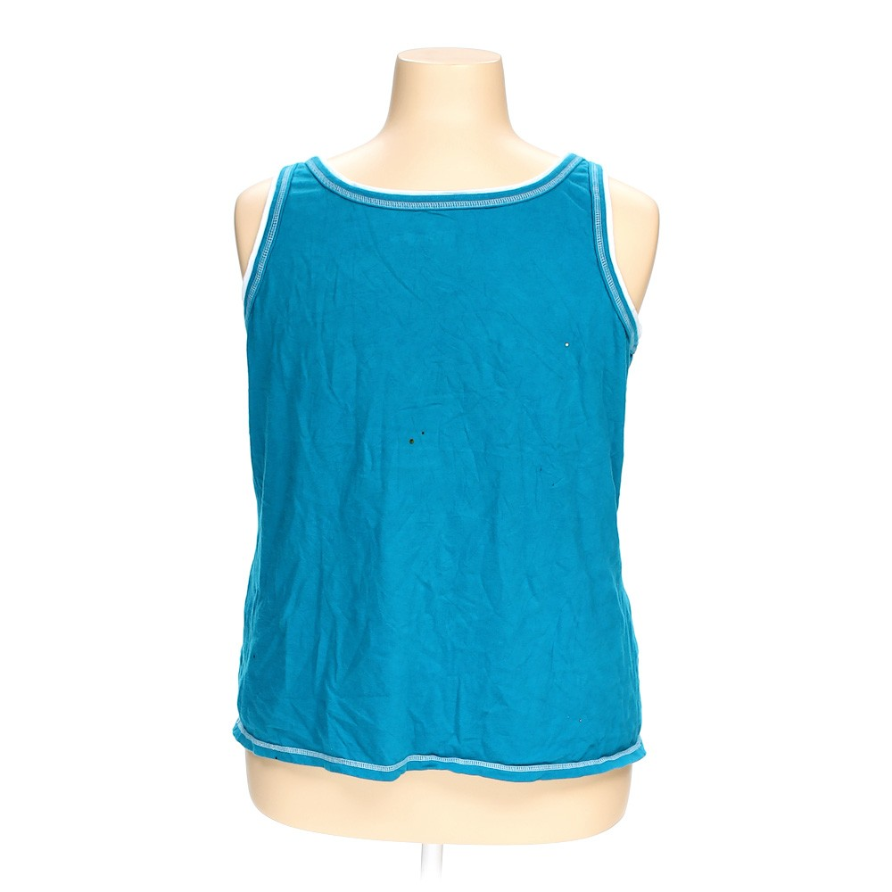 American Eagle Credit Card Sign In >> Light Blue Just My Size Sleeveless Top in size 22 at up to 95% Off - Swap.com