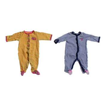 Striped Footed Pajamas Set for Sale on Swap.com