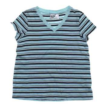 Striped V-neck Maternity T-shirt for Sale on Swap.com