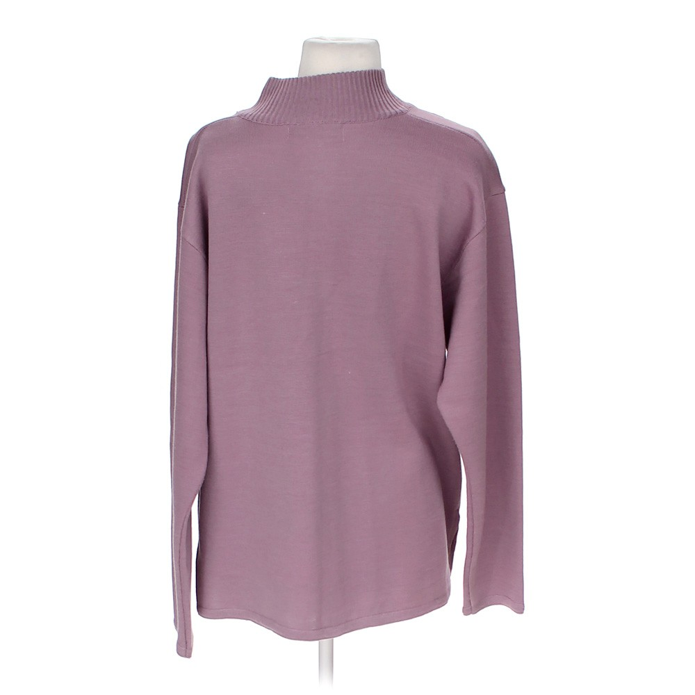 Purple Elegant Stylish Sweater in size M at up to 95% Off ... - photo#40