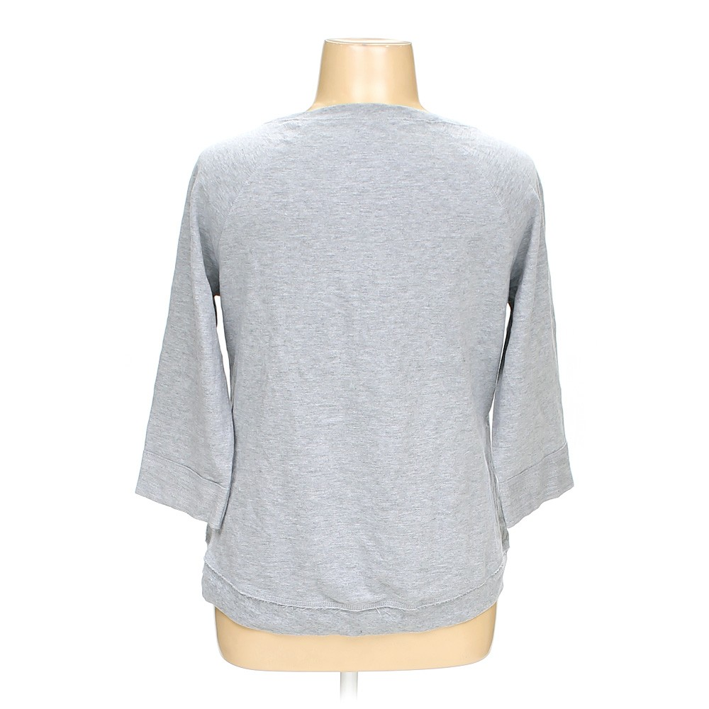 Grey Hanes Sweatshirt in size L at up to 95% Off
