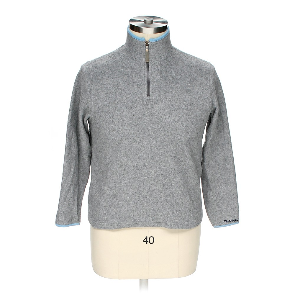 Grey Old Navy Sweatshirt in size M at up to 95% Off