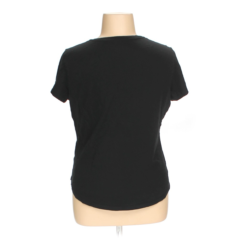 Black Faded Glory T Shirt In Size 16 At Up To 95 Off