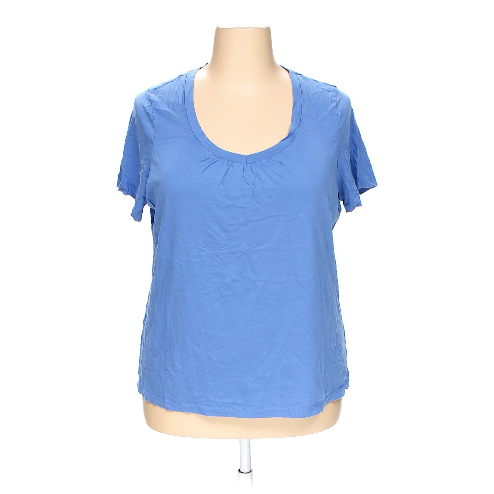 Light Blue St John 39 S Bay T Shirt In Size 2x At Up To 95