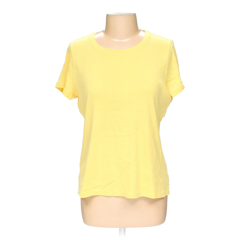 Yellow St John S Bay T Shirt In Size L At Up To 95 Off