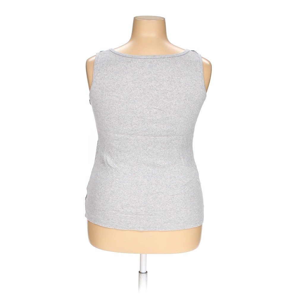 Grey Faded Glory Tank Top In Size 18 At Up To 95 Off
