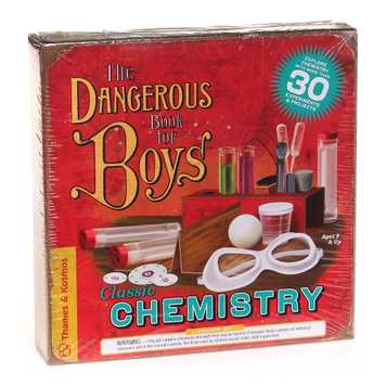 The Dangerous Book for Boys Classic Chemistry Science Kit for Sale on Swap.com
