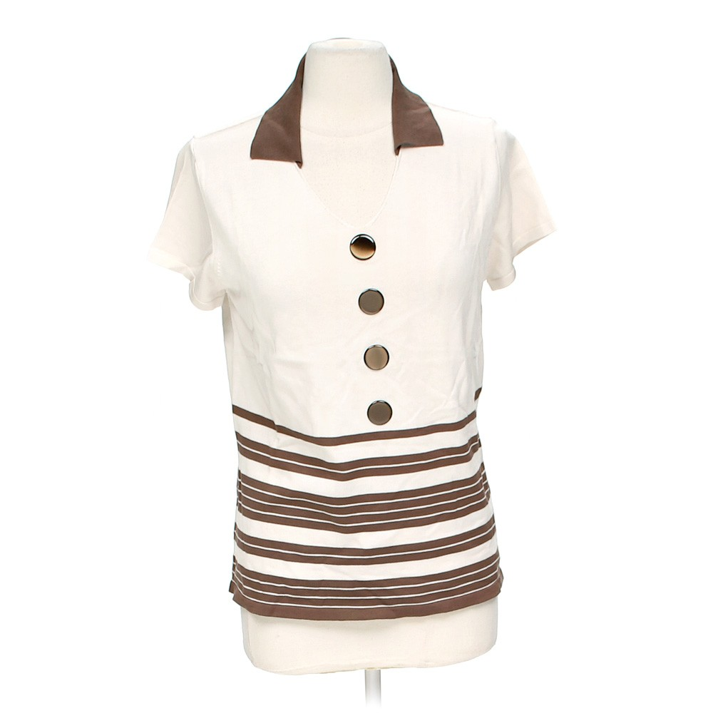 White carla b trendy shirt in size 16 at up to 95 off for How to hand wash white shirt