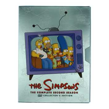 TV-series: The Simpsons - The Complete Second Season for Sale on Swap.com