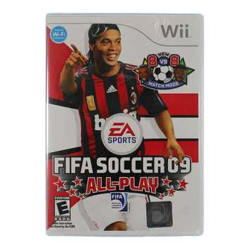 Video Game: FIFA Soccer 09 All-Play for Sale on Swap.com