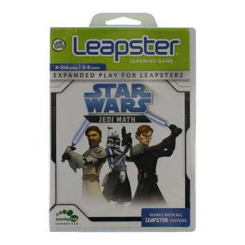 Video Game: LeapFrog Leapster Learning Game Star Wars - Jedi Math for Sale on Swap.com