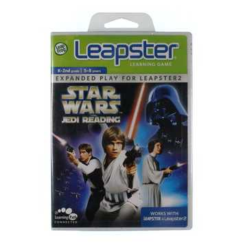 Video Game: LeapFrog Leapster Learning Game Star Wars Jedi Reading for Sale on Swap.com