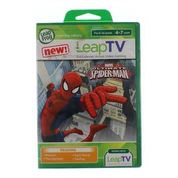Video Game: LeapFrog/LeapTV Ultimate Spider-Man Educational for Sale on Swap.com