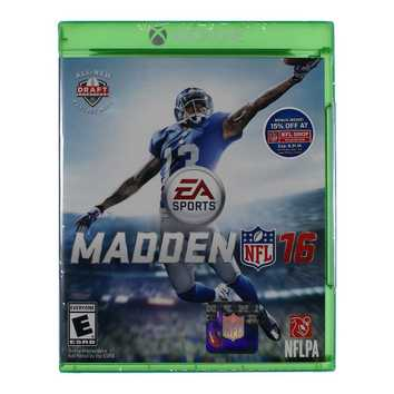 Video Game: Madden NFL 16 for Sale on Swap.com