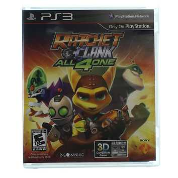 Video Game: Ratchet Clank All4one for Sale on Swap.com