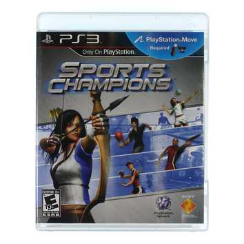 Video Game: Sports Champions for Sale on Swap.com