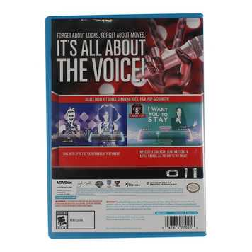Video Game: The Voice: I Want You - Nintendo Wii U (Software Only) for Sale on Swap.com