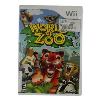 Video Game: World Of Zoo - Nintendo Wii for Sale on Swap.com