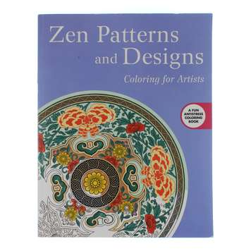Zen Patterns & Designs Coloring Book for Sale on Swap.com